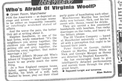 Who's Afraid Of Virginia Woolf? Manchester Evening News review